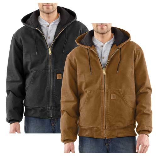 Men's Sandstone Active Jacket, Brown, swatch