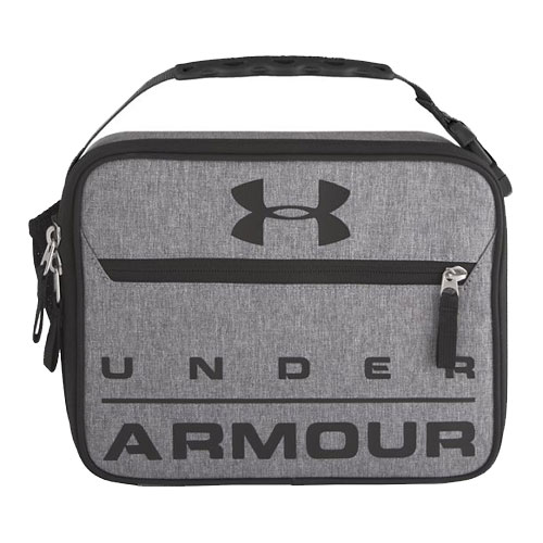 UA Scrimmage Lunch Box, Heather Gray, swatch