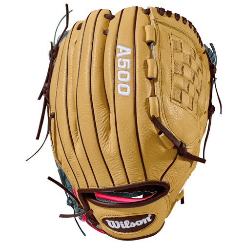 "Adult 12"" A500 Series Glove, Brown, swatch"