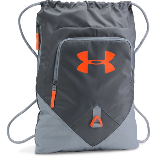 Undeniable Sackpack, Silver/Orange, swatch