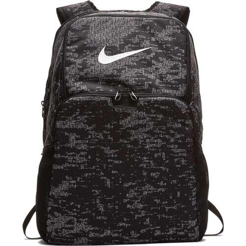 Brasilia Xl Backpack, Black Patterned, swatch
