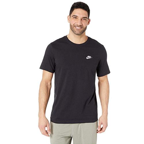 Men's Club Short Sleeve Tee, Black, swatch