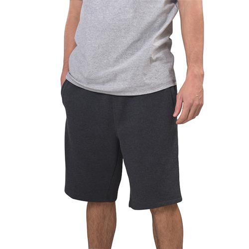 Men's Mid Weight Fleece Shorts, Charcoal,Smoke,Steel, swatch