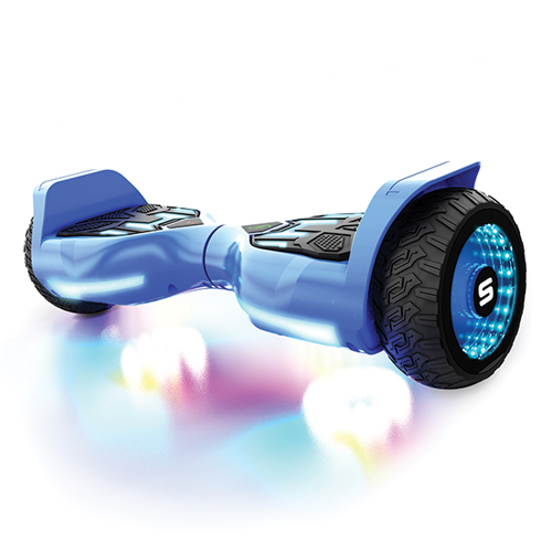 Warrior T580 Hoverboard, Blue, swatch