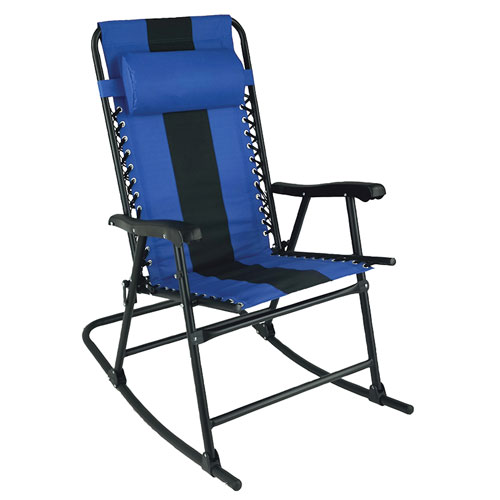 Rocker Lounge Chair, Navy/Black Or Silver, swatch