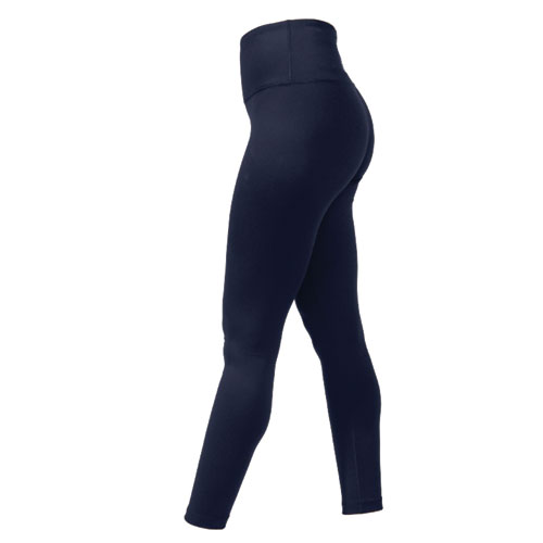Women's Hi Waist Brushed Inside Legging, Navy, swatch