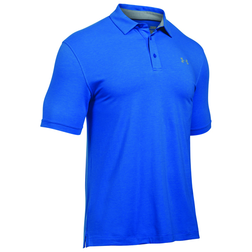 Men's Charged Cotton Scramble Polo, Blue, swatch