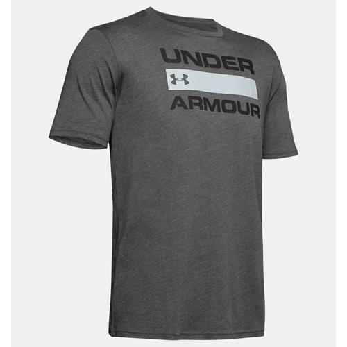 Men's Under Armour Team Issue Wordmark, Heather Gray, swatch