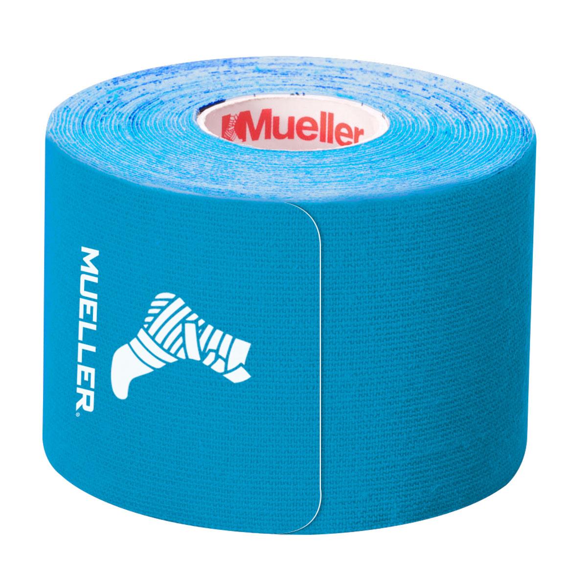 Kinesiology Tape Pre-Cut I-Strips, Blue, swatch