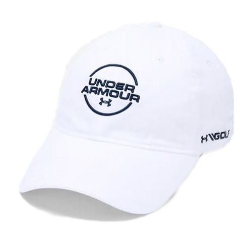 Men's Jordan Spieth Washed Cotton Cap, White, swatch