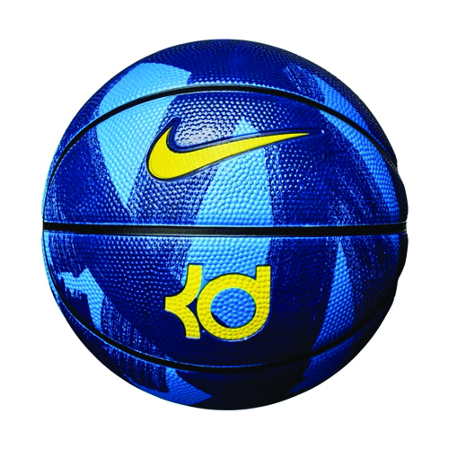 KD Official Basketball, Black/Blue, swatch