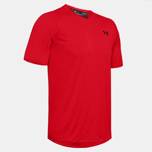 Men's Under Armour Tech 2.0 Tee, Red, swatch