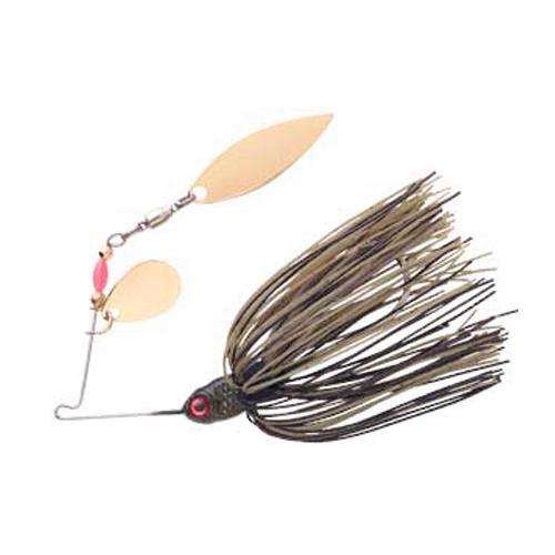 Pradco Lures Pond Magic Spinnerbait, Brown/Black, swatch
