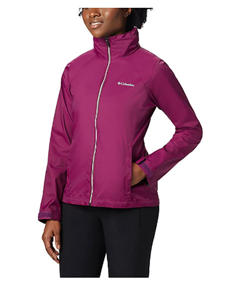 Women's Switchback III Hooded Packable Jacket, Dk Red,Wine,Ruby,Burgandy, swatch