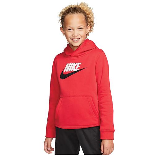 Boys' Sportswear Club Fleece, Red, swatch