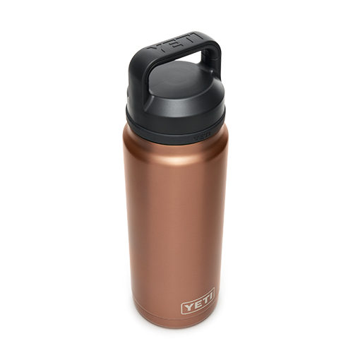 Rambler 26oz Bottle With Chug Cap, Copper,Rust, swatch
