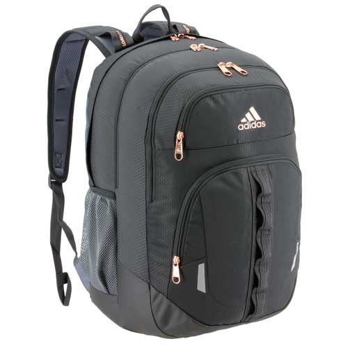 Prime V Backpack, Charcoal And Pink, swatch
