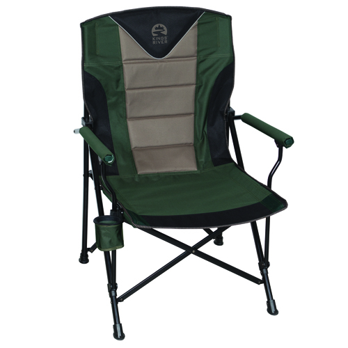 Monster Hard Arm Chair, Green, swatch