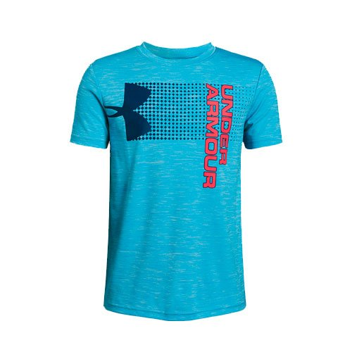 Boy's Crossfade Logo T-Shirt, Blue, swatch
