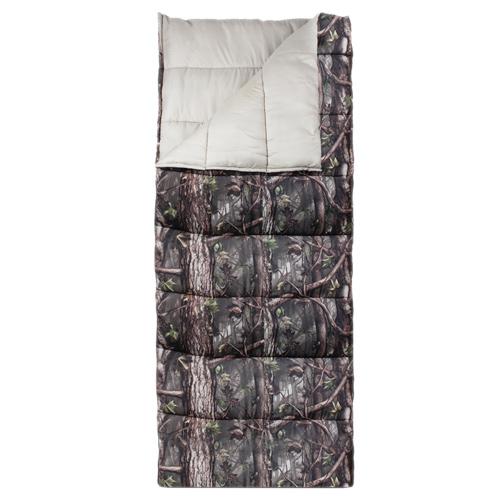 Outdoorsman Sleeping Bag, Hd Camo, swatch