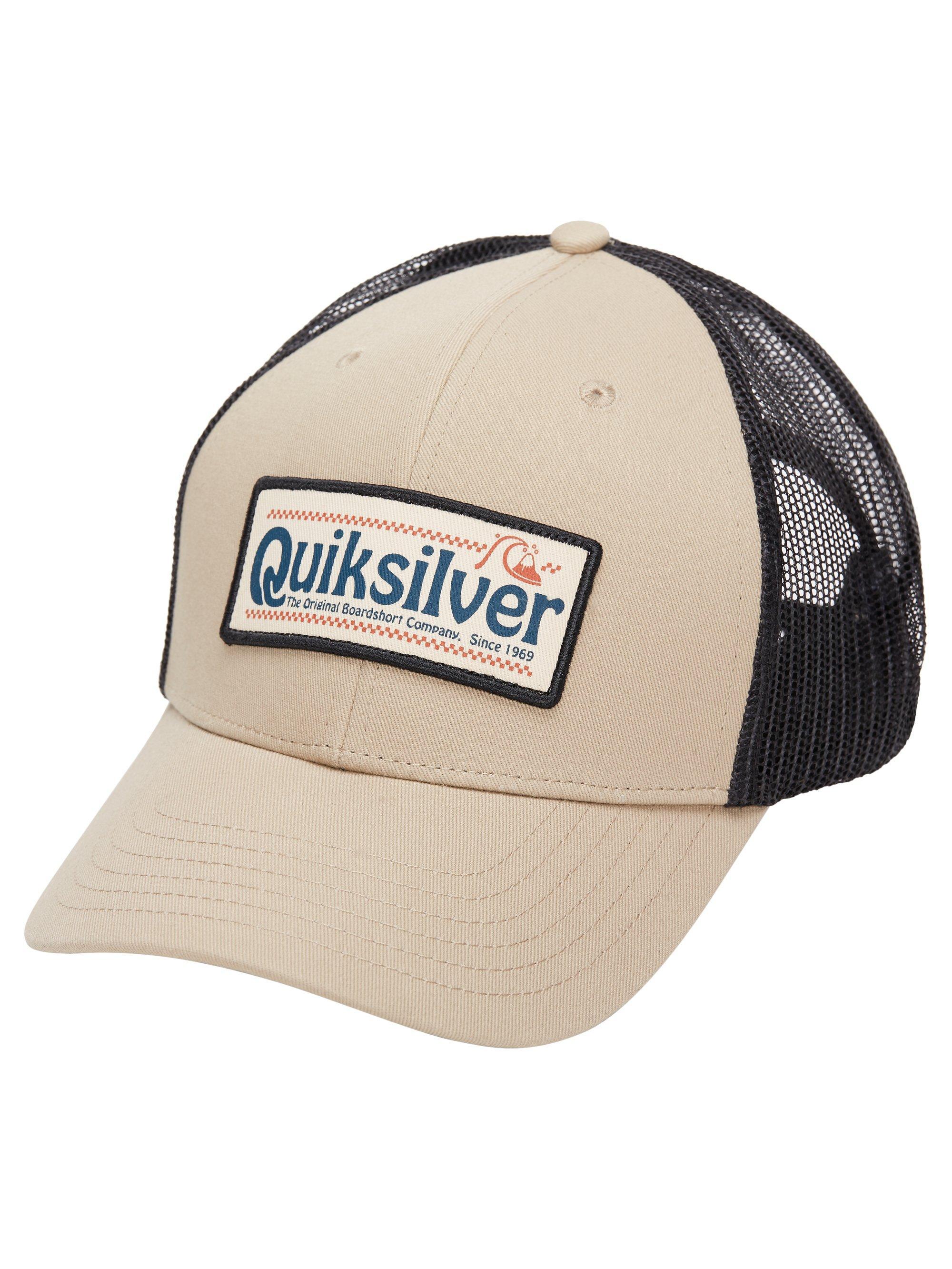 Men's Big Rigger Trucker Hat, Tan/Black, swatch