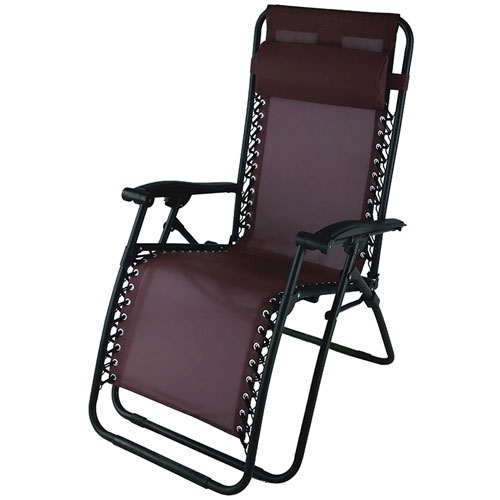 Zero Gravity Chair, Dk Red,Wine,Ruby,Burgandy, swatch