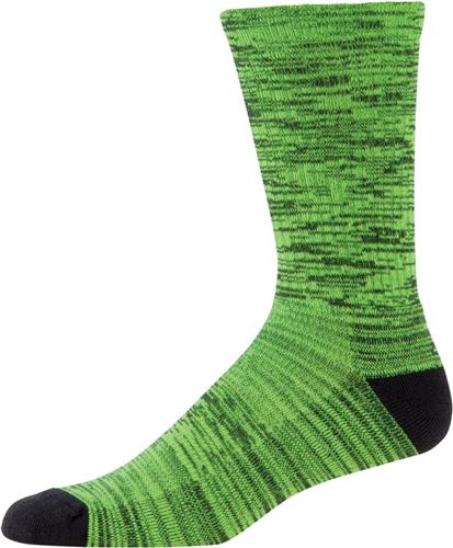 Men's Twist Tech Crew Socks, Green, swatch