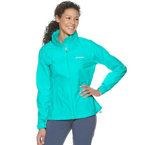 Women's Switchback III Waterproof Rain Jacket, Lt Green,Mint,Fern,Seafom, swatch