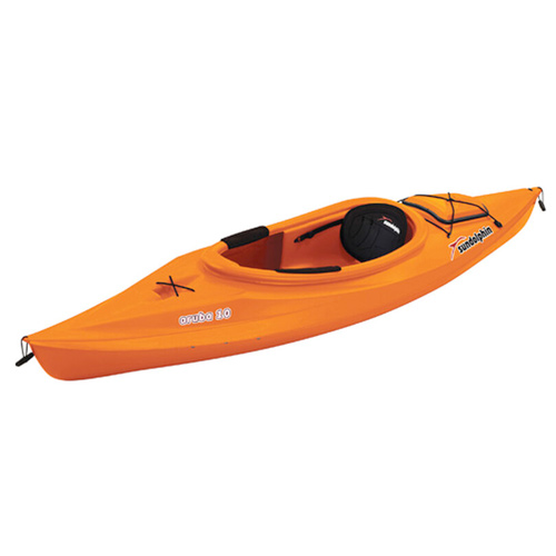 Aruba 10' Sit-In Kayak, Orange, swatch