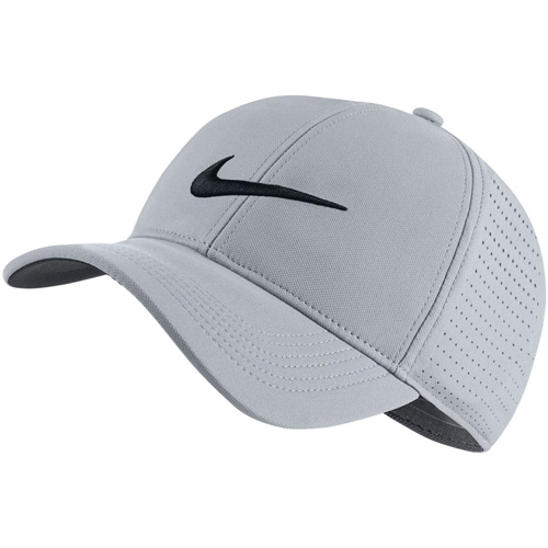 Aerobill Legacy 91 Perforated Golf Cap, Gray, swatch