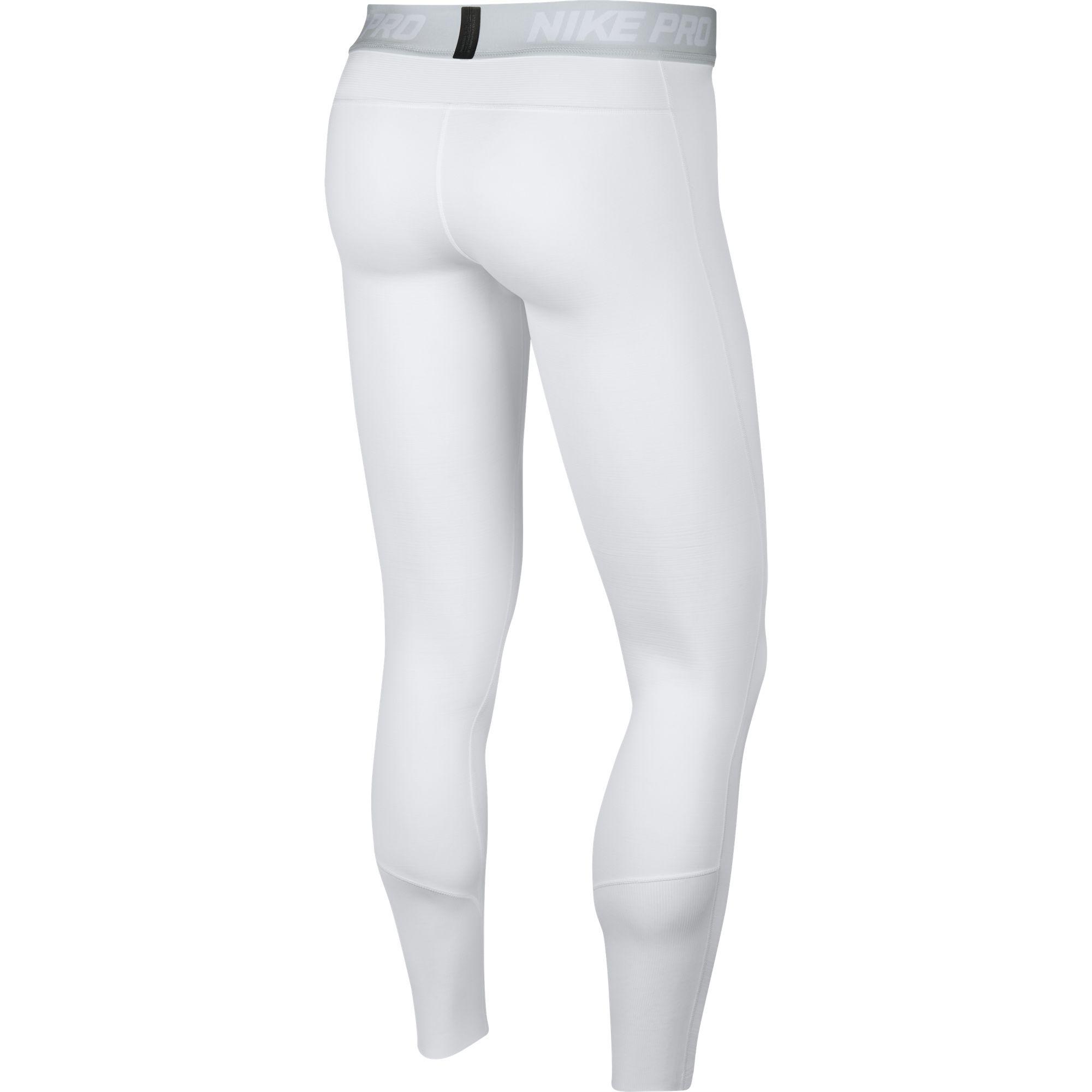 Men's Pro Dri-FIT Therma Tight, White, swatch