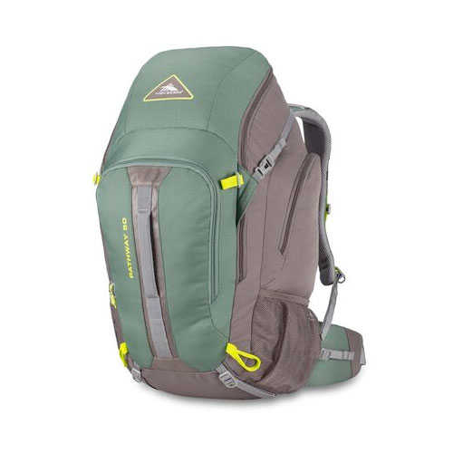 Pathway 50L Pack, Green/Silver, swatch