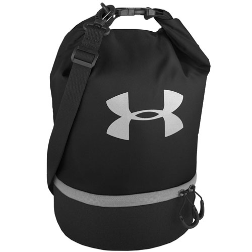 Under Armour Dual Compartment Lunch Bag, Black, swatch