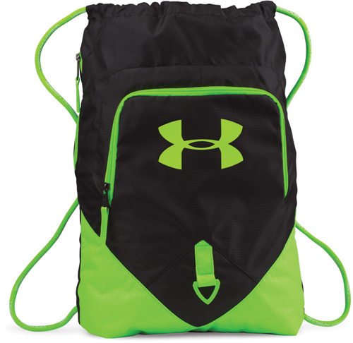 Undeniable Sackpack, Black/Neon, swatch