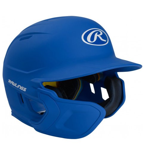 Senior MACH Matte Right-handed Batting Helmet, Royal Bl,Sapphire,Marine, swatch