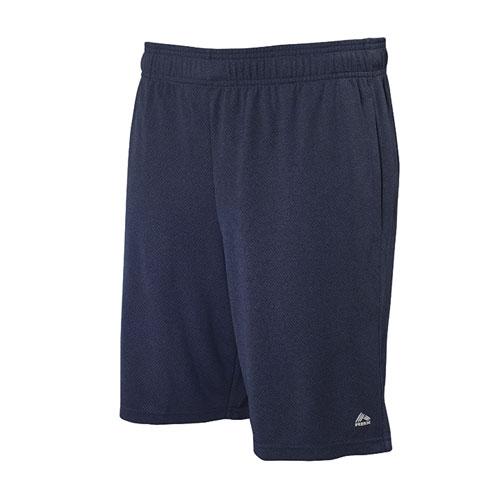 Men's Heather Mesh Shorts, Navy, swatch
