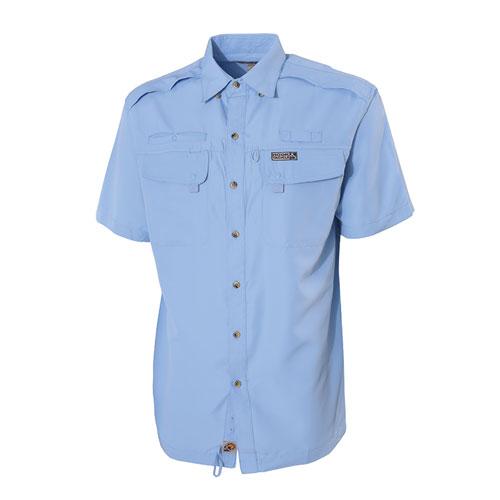 Men's Seacliff 2.0 Short Sleeve Fishing Shirt, Lt Blue,Powder,Sky Blue, swatch