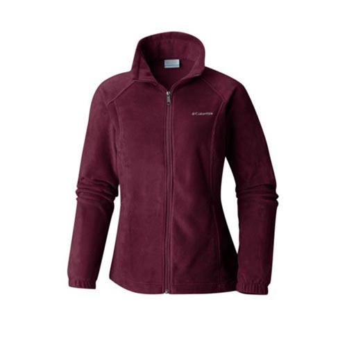 Women's Benton Springs Full Zip Fleece, Dk Red,Wine,Ruby,Burgandy, swatch