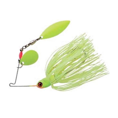 Pradco Lures Pond Magic Spinnerbait, Florescent Yellow, swatch