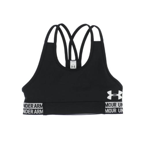 Girls' Armour Heatgear Sports Bra, Black, swatch