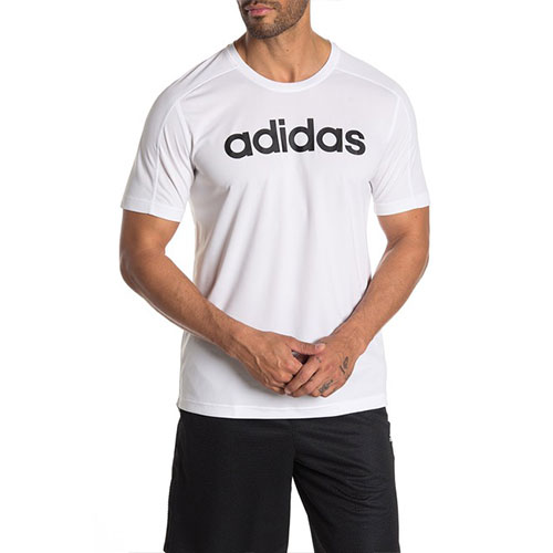 Men's Design 2 Move Short Sleeve Tee, White, swatch