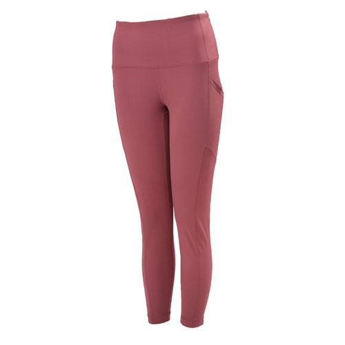 Women's Lux High Rise Ankle Leggings, Pink, swatch