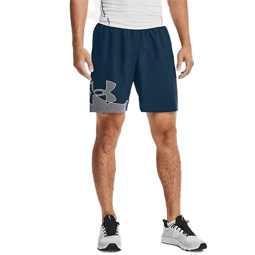"""Men's Woven Graphic 8"""" Shorts, Navy, swatch"""