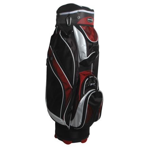 Tps 5400 Deluxe Cart Bag, Black/Red, swatch