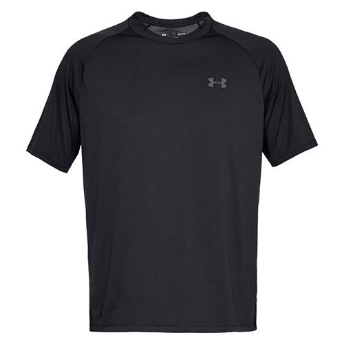 Men's Short Sleeve Tech 2.0 T-Shirt, Black, swatch