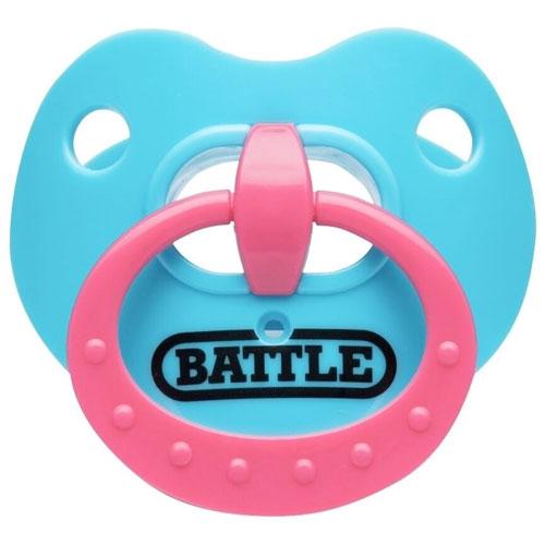 Binky Oxygen Football Mouthguard, Blue/Pink, swatch