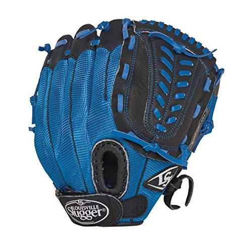 "Youth 10.5"" Genesis Glove, Royal Bl,Sapphire,Marine, swatch"