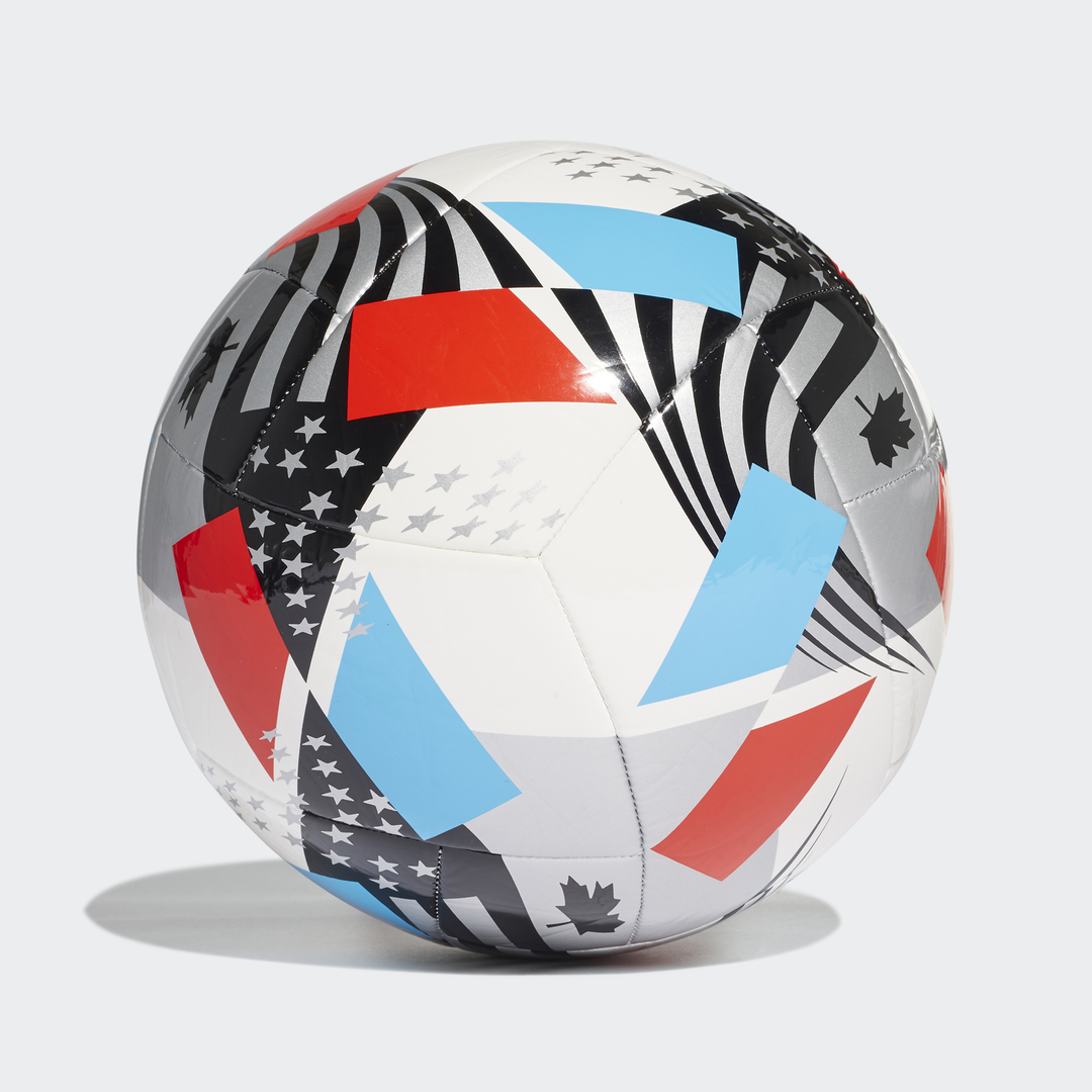 MLS Nativo XXV Club Soccer Ball, Red, White And Blue, swatch