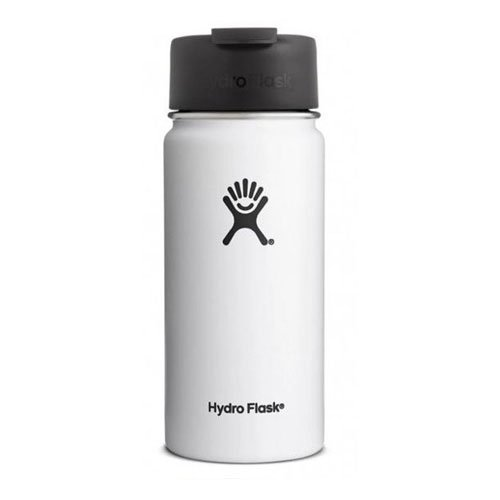 16oz Wide Mouth With Flex Sip Lid, White, swatch