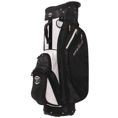 Men's 14 Way Cart Bag, Black/White, swatch
